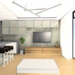 minimalistyczny salon lublin
